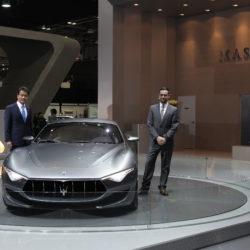 Maserati_Seoul+Motor+Show_Fabrizio+Cazzoli+-+Market+Responsible+South+Korea_TJ+Lee+-+Executive+Vice+President+&+COO+FMK+Corp