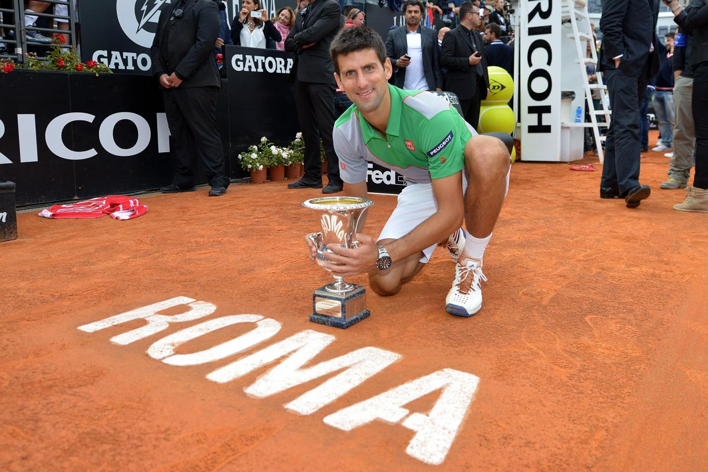 Novak Djokovic vs Rafa Nadal - Internazionali BNL d'Italia ...