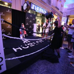 hublot-and-floyd-mayweather-score-a-knockout-partnership-for-the-fight-of-the-century-boxing-ring-in-front-of-the-hublot-boutique