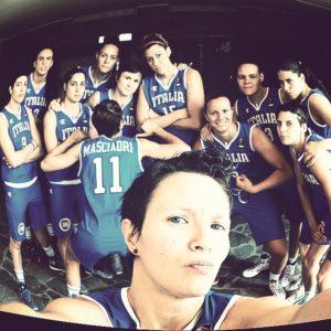 basket azzurre