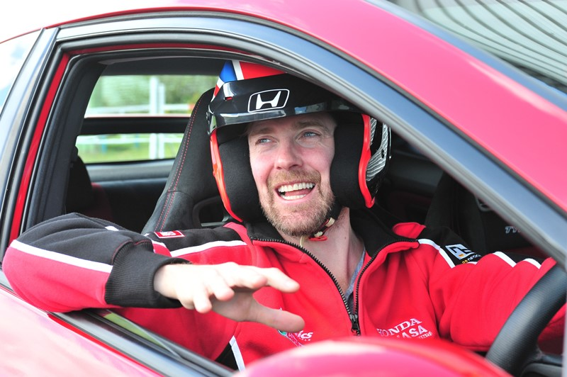 Ricky Wilson becomes Civic Type R ambassador