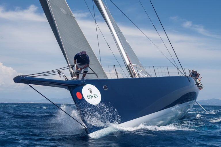 MAGIC CARPET CUBED, Group 0 (IRC >18.05mt), Sail n: GBR1001, Owner: SIR LINDSAY OWEN-JONES