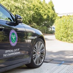 Official Jaguar/Land Rover cars. The Championships 2015 at The All England Lawn Tennis Club, Wimbledon. - Tuesday 23/06/2015. Photo: AELTC/Jed Leicester