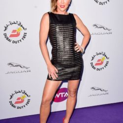 Jelena Jankovic attending the WTA Pre-Wimbledon Party at The Roof Gardens, Kensington, London. PRESS ASSOCIATION Photo. Picture date: Thursday June 25, 2015. See PA story SHOWBIZ Wimbledon. Photo credit should read: Dominic Lipinski/PA Wire