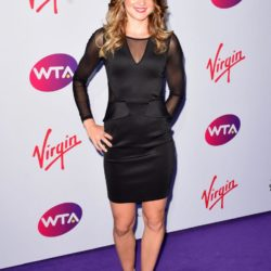 Lucie Safarova attending the WTA Pre-Wimbledon Party at The Roof Gardens, Kensington, London. PRESS ASSOCIATION Photo. Picture date: Thursday June 25, 2015. See PA story SHOWBIZ Wimbledon. Photo credit should read: Dominic Lipinski/PA Wire