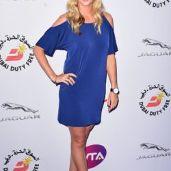 Petra Kvitova attending the WTA Pre-Wimbledon Party at The Roof Gardens, Kensington, London. PRESS ASSOCIATION Photo. Picture date: Thursday June 25, 2015. See PA story SHOWBIZ Wimbledon. Photo credit should read: Dominic Lipinski/PA Wire