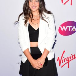 Ana Konjuh attending the WTA Pre-Wimbledon Party at The Roof Gardens, Kensington, London. PRESS ASSOCIATION Photo. Picture date: Thursday June 25, 2015. See PA story SHOWBIZ Wimbledon. Photo credit should read: Dominic Lipinski/PA Wire