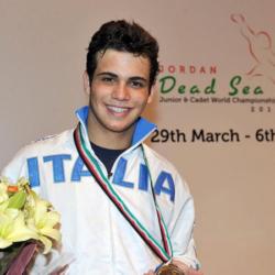 Luca Curatoli Argento Giordania Mondo cadetti 2011