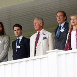 attends The Royal Salute Coronation Cup at Guards Polo Club in Windsor Great Park on July 25, 2015 in Egham, England.