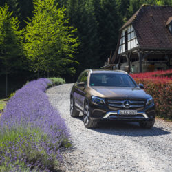 Mercedes-Benz Fahrvorstellung GLC Elsass 2015