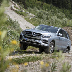 Fahrveranstaltung Mercedes-Benz GLE und GLE Coupe in Kitzbühel Juni 2015GLE 350d 4MATIC