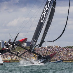 25th July 2015. Portsmouth, UK. America's Cup World Series.