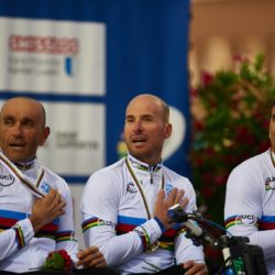 Nottwil (SUI) 29th July 2015. UCI Para-cycling Road World Championship 2015 - Opening ceremony - BMW Ambassador Alessandro Zanardi (ITA). This image is copyright free for editorial use © BMW AG