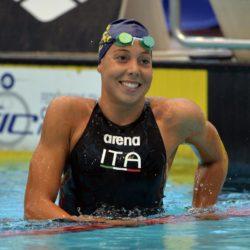 Gian Mattia D'Alberto / lapresse 15-06-2014 Roma sport  nuoto trofeo Settecolli nella foto: Aurora Ponsele'  Gian Mattia D'Alberto / lapresse 15-06-2014 Rome in the photo: Aurora Ponsele'