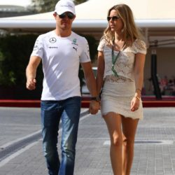 © Photo4 / LaPresse21/11/2014 Abu Dhabi, UAESport Grand Prix Formula One Abu Dhabi 2014In the pic: Nico Rosberg (GER), Mercedes AMG F1 W05 and his wife Vivian Sibold