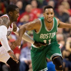 Jan. 22, 2015 - EVAN TURNER (11) drives with the ball. The Portland Trail Blazers play the Boston Celtics at the Moda Center on January 3, 2015. Lapresse Only italyNBA - Le partite della notte