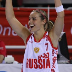 July 4, 2015 - BECKY HAMMON is about to become the first woman to serve as the head coach of an NBA summer league team. San Antonio announced Friday that Hammon will lead the Spurs during summer league play in Las Vegas. She is entering her second season as an assistant coach for the Spurs. Pictured: Aug 9, 2008 - Beijing, China - Russia's Becky Hammon celebrates a score against Latvia during second half action in the 2008 Beijing Olympics Women's Preliminary Round. Russia won 62-57. Becky Hammon, la prima donna dell'NBA ZumaPressLaPresse  -- Only Italy