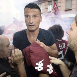 foto Fabio Ferrari - LaPresse 08/07/2015 Torino ( Italia )  sport Il Torino Fc si ritrova all'Hotel Boston di Torino in vista del ritiro estivo pre-campionato. nella foto:Castellazzi  photo Fabio Ferrari - LaPresse 08/07/2015  Turin ( Italy )  sport Torino Fc can be found at the Hotel Boston in Turin in view of the pre-season training camp. in the pic:Castellazzi