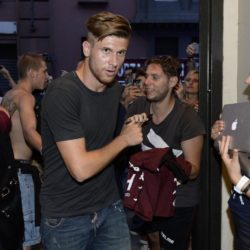 foto Fabio Ferrari - LaPresse 08/07/2015 Torino ( Italia )  sport Il Torino Fc si ritrova all'Hotel Boston di Torino in vista del ritiro estivo pre-campionato. nella foto:Alen Stevanovic  photo Fabio Ferrari - LaPresse 08/07/2015  Turin ( Italy )  sport Torino Fc can be found at the Hotel Boston in Turin in view of the pre-season training camp. in the pic:Alen Stevanovic