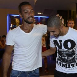 foto Fabio Ferrari - LaPresse 08/07/2015 Torino ( Italia )  sport Il Torino Fc si ritrova all'Hotel Boston di Torino in vista del ritiro estivo pre-campionato. nella foto:Quagliarella,Peres  photo Fabio Ferrari - LaPresse 08/07/2015  Turin ( Italy )  sport Torino Fc can be found at the Hotel Boston in Turin in view of the pre-season training camp. in the pic:Quagliarella,Peres