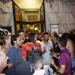 foto Fabio Ferrari - LaPresse 08/07/2015 Torino ( Italia )  sport Il Torino Fc si ritrova all'Hotel Boston di Torino in vista del ritiro estivo pre-campionato. nella foto:La squadra esce per salutare i tifosi  photo Fabio Ferrari - LaPresse 08/07/2015  Turin ( Italy )  sport Torino Fc can be found at the Hotel Boston in Turin in view of the pre-season training camp. in the pic: