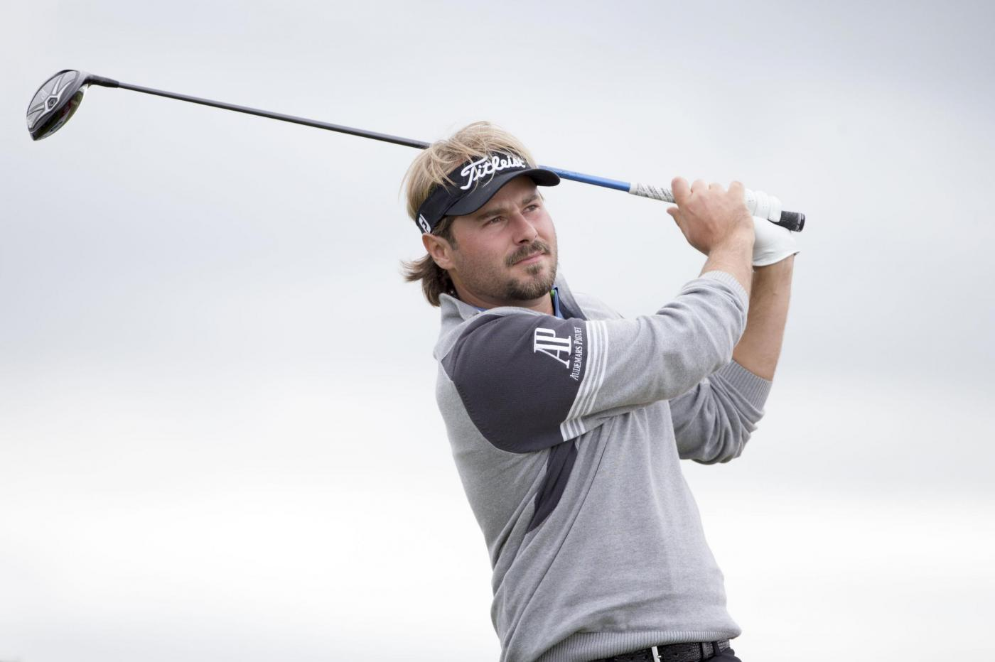 France's Victor Dubuisson tees of at the 14th tee during day two of the Scottish Open at Gullane Golf Club, East Lothian. PRESS ASSOCIATION Photo. Picture date: Friday July 10, 2015. See PA story GOLF Gullane. Photo credit should read: Kenny Smith/PA Wire. RESTRICTIONS: Editorial use only. No commercial use. No false commercial association. No video emulation. No manipulation of images.