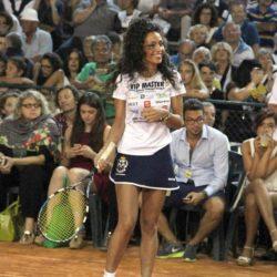 Claudio BernardiMilanoMarittima, 11 luglio 2015Vip Master Tennis 2015. Ancora una volta molti vip dello spettacolo e dello sport si sono dati appuntamento per sfidarsi sul campo di terra rossa. nella foto: Raffaella Fico LaPresse