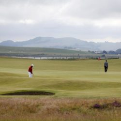 A general view of the 10th during a practice day ahead of The Open Championship 2015 at St Andrews, Fife. PRESS ASSOCIATION Photo. Picture date: Tuesday July 14, 2015. See PA story GOLF Open. Photo credit should read: Danny Lawson/PA Wire. RESTRICTIONS: Editorial use only - no commercial use. No onward sale. Still image use only. The Open Championship logo and clear link to The Open website (www.TheOpen.com) to be included on website publishing. Call +44 (0)1158 447447 for further info.