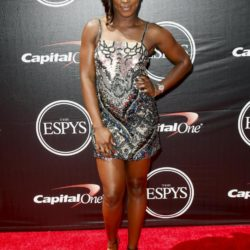 WTA tennis player Sloane Stephens arrives for the 2015 ESPY Awards in Los Angeles, California July 15, 2015.  REUTERS/Danny Moloshok