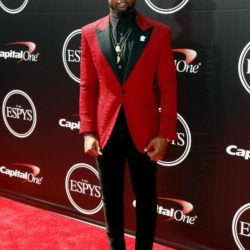 NFL football player Odell Beckham Jr. arrives for the 2015 ESPY Awards in Los Angeles, California July 15, 2015.  REUTERS/Danny Moloshok