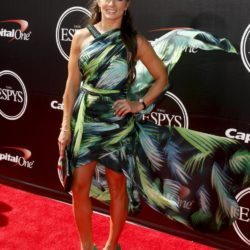 NASCAR driver Danica Patrick arrives for the 2015 ESPY Awards in Los Angeles, California July 15, 2015.  REUTERS/Danny Moloshok