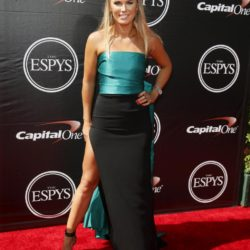 WTA tennis player Caroline Wozniacki arrives for the 2015 ESPY Awards in Los Angeles, California July 15, 2015.  REUTERS/Danny Moloshok