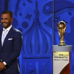 Italian coach Fabio Cannavaro attents the preliminary draw for the 2018 FIFA World Cup at Konstantin Palace in St. Petersburg, Russia July 25, 2015. REUTERS/Stringer