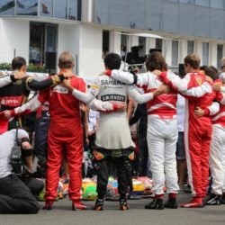 © Photo4 / LaPresse 26/07/2015 Budapest, Hungary Sport  Grand Prix Formula One Hungary 2015 In the pic: tribute to Jules Bianchi (FRA)