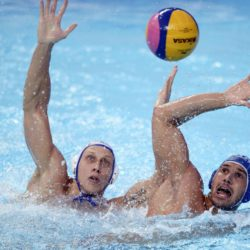 Foto Fabio Ferrari - LaPresse29/07/2015 Kazan ( Russia ) Sport 16 Campionati del mondo FINA 2015 - Pallanuoto Uomini - Russia vs Italia  nella foto: durante la gara.Photo Fabio Ferrari - LaPresse29 July 2015 Kazan ( Russian ) Sport16th FINA World Championship 2015 - Men's Water Polo - Russia vs Italia - Preliminary Round - Group Bin the picture:during the race.