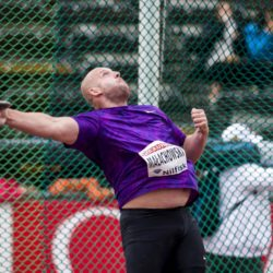 Piotr Malachowski of Poland competes in the men's discus throw event at the IAAF Athletics Diamond League meeting at the Stockholm Olympic Stadium, Sweden July 30, 2015. REUTERS/Marcus Ericsson/TT News Agency   ATTENTION EDITORS - THIS IMAGE HAS BEEN SUPPLIED BY A THIRD PARTY. SWEDEN OUT. NO COMMERCIAL OR EDITORIAL SALES IN SWEDEN. NO COMMERCIAL SALES. THIS PICTURE IS DISTRIBUTED EXACTLY AS RECEIVED BY REUTERS, AS A SERVICE TO CLIENTS.