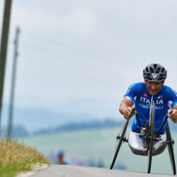 Nottwil (SUI) 1st August 2015. UCI Para-cycling Road World Championship 2015 - Training - BMW Ambassador Alessandro Zanardi (ITA). This image is copyright free for editorial use © BMW AG
