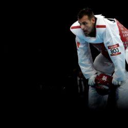 Foto Daniele Badolato - LaPresse 11 08 2012 Londra ( GB ) Sport Olimpiadi Londra 2012 - Taekwondo finale Nella foto : la medaglia d'oro Carlo Molfetta  Foto Daniele Badolato - LaPresse 11 08 2012 London ( GB ) Sport London 2012 Olympics - Taekwondo Final In the picture Carlo Molfetta gold medallist