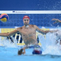Foto Fabio Ferrari - LaPresse 31/07/2015 Kazan ( Russia )  Sport  16 Campionati del mondo FINA 2015 - Pallanuoto Uomini - Usa vs Italia   nella foto: durante la partita.  Photo Fabio Ferrari - LaPresse 31 July 2015 Kazan ( Russian )  Sport 16th FINA World Championship 2015 - Men's Water Polo - Usa vs Italia - Preliminary Round - Group B in the picture:during the match.