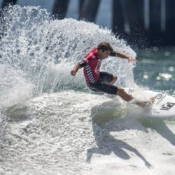 July 29, 2015 - Huntington Beach, CA, USA - Nate Yeomans competes in second round of U.S. Open of Surfing at Huntington Beach, California on Wednesday, July 29, 2015. ..///ADDITIONAL INFORMATION: usopen.sports.0730-7/29/15- KYUSUNG GONG, STAFF Kyusung Gong – US Open of Surfing Day 5 (Credit Image:  Kyusung Gong/The Orange County Register via ZUMA Wire) Lapresse Only italyU.S. Open of Surfing 2015 a Huntington Beach