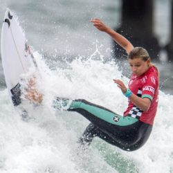 July 29, 2015 - Huntington Beach, CA, USA - Lakey Peterson competes in second round of U.S. Open of Surfing at Huntington Beach, California on Wednesday, July 29, 2015. ..///ADDITIONAL INFORMATION: usopen.sports.0730-7/29/15- KYUSUNG GONG, STAFF Kyusung Gong – US Open of Surfing Day 5 (Credit Image:  Kyusung Gong/The Orange County Register via ZUMA Wire) Lapresse Only italyU.S. Open of Surfing 2015 a Huntington Beach