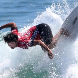 Aug. 2, 2015 - Huntington Beach, California, U.S. - First place winner HIROTO OHHARA, of Japan competes at the Vans US Open of Surfing. (Credit Image: © Daniel A. Anderson via ZUMA Wire) Lapresse Only italyU.S. Open of Surfing 2015 a Huntington Beach