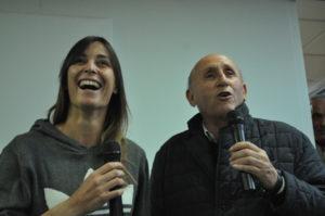 Flavia con il papà, Oronzo Pennetta
