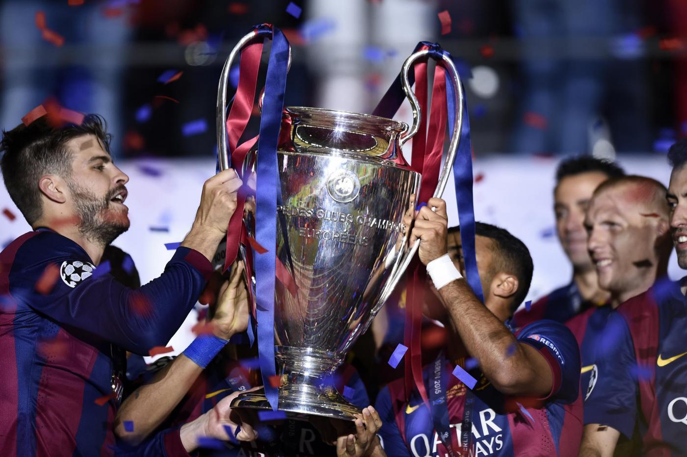Anche Barcellona - Juventus andrà in onda in chiaro su Canale 5