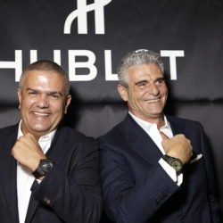 hublot-teams-up-with-legend-ferrari-at-the-heart-of-the-italian-grand-prix-ricardo-guadalupe-and-maurizio-arivabene-at-the-hublot-party-in-the-swiss-corner