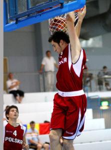 Basketball U20 European Championship Men DIV B Group D Romania vs Poland
