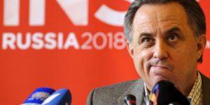 Russian Sports Minister Vitaly Mutko giv
