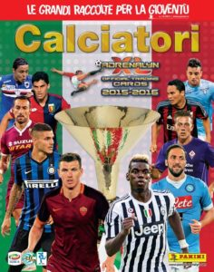 Panini CalciatoriAdrenalyn XL 2015-16 Cover