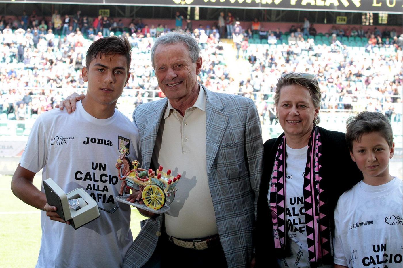 Juventus-Palermo, Zamparini ritrova il pupillo Dybala: