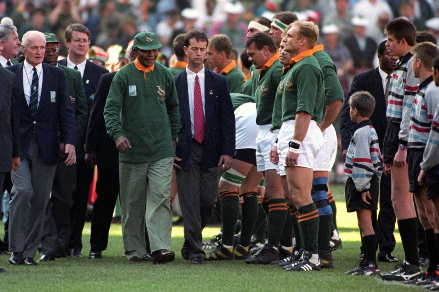 mandela and rugby The movie is set in south africa during the election of president nelson mandela and the 1995 rugby world cup, which was hosted by that country its title comes from a poem written by the.